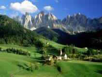 Dolomitne stene u Italiji